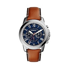 Fossil - Men's Grant watch with Blue Dial