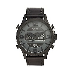 Fossil - Men's Nate Anadigi Watch