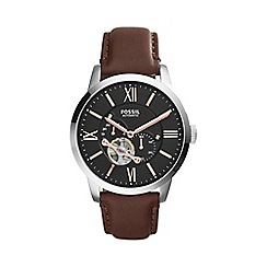 Fossil - Men's Townsman Automatic Leather Watch