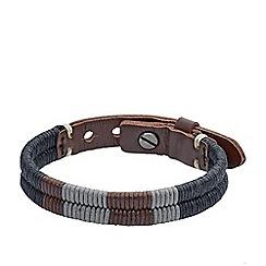 Fossil - Gents woven bracelet