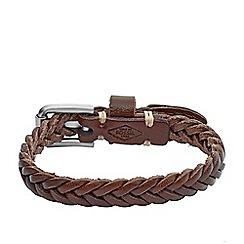 Fossil - Gents buckle bracelet