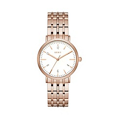 DKNY - Ladies Rose gold Minetta watch ny2504