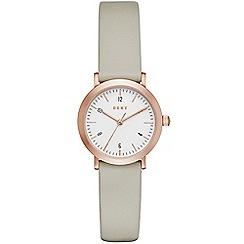 DKNY - Ladies Leather Minetta watch ny2514