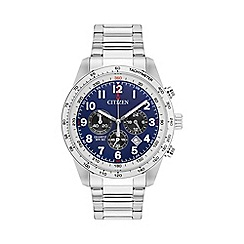 Citizen - Mens bracelet stainless steel chronograph watch an8160-52l