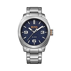 Boss Orange - Gents silver stainless steel watch