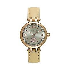 Ted Baker - Women's rose gold strap watch te10027794