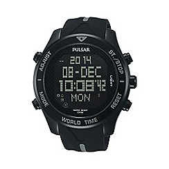 Pulsar - Gents BIP digital world time watch pq2041x1