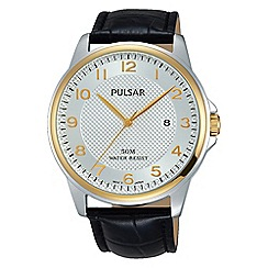 Pulsar - Gents Two Tone strap watch