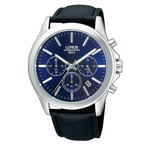 Lorus - Men+s chronograph watch