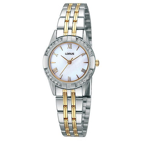 Lorus - Ladies gold and silver watch