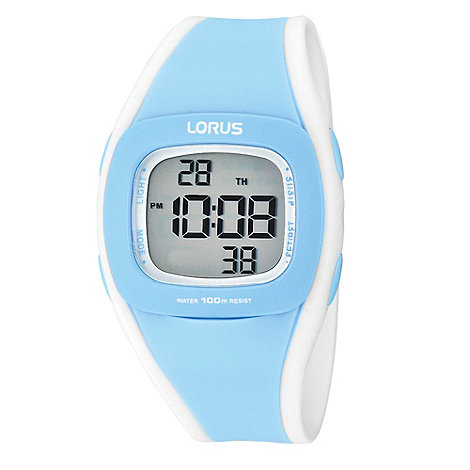 Lorus - Ladies light blue digital