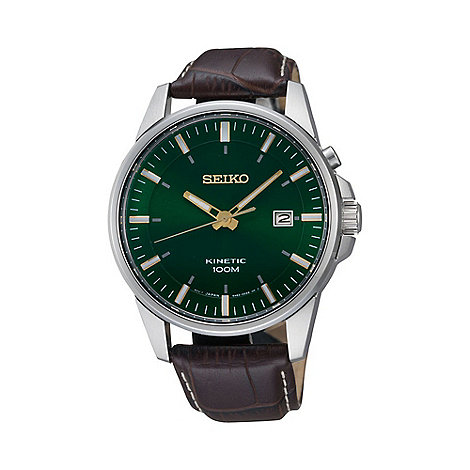 Seiko - Men+s large face watch ska533p1