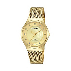 Pulsar - Ladies GP mesh bracelet watch ph8130x1