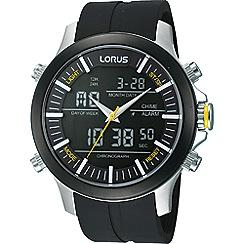 Lorus - Men's digital strap watch rw605ax9