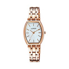 Lorus - Women's MOP dial dress bracelet watch rg258lx9