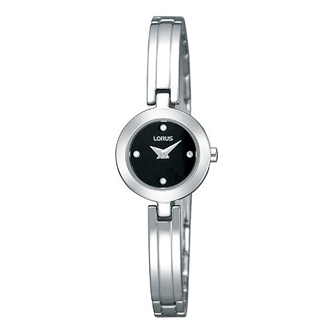 Lorus - Ladies silver bangle watch
