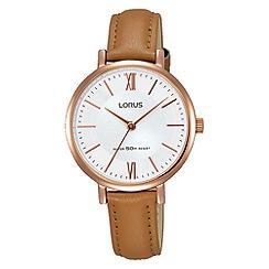Lorus - Women's strap watch rg262lx9