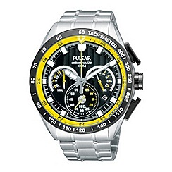 Pulsar - Men's silver chronograph watch