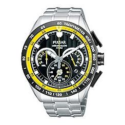 Pulsar - Men's silver chronograph watch