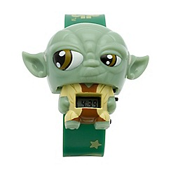 BULB BOTZ - Kid's Green Star Wars Yoda Watch 2020114