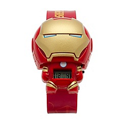 LEGO - Kid's Red Marvel Iron Man Watch 2020138