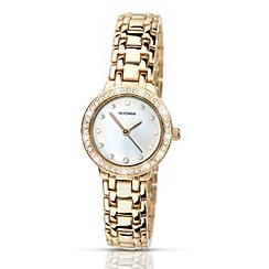 Sekonda - Ladies gold mother of pearl watch
