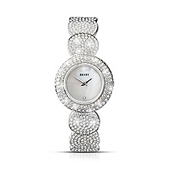 Seksy - Ladies 'Elegance' silver round strap watch