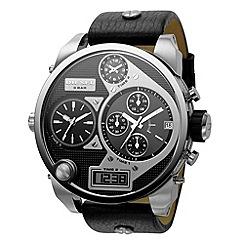 Diesel - Men's round face watch from deisel