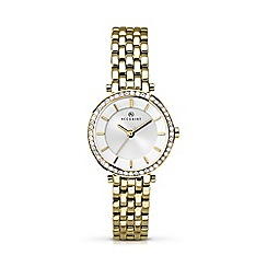 Accurist - Women's gold plated bracelet watch 8122.01