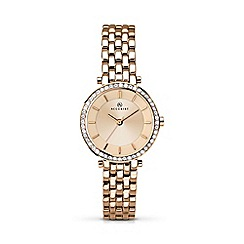 Accurist - Women's rose gold plated bracelet watch 8124.01