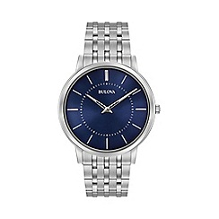 Bulova - Men's Stainless steel bracelet watch
