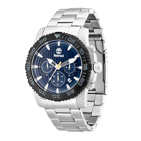 Timberland - Men+s silver +galehead+ stainless steel bracelet watch