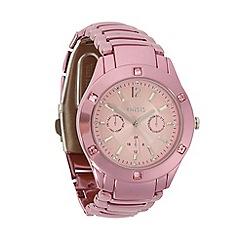 Oasis - Ladies pink stainless steel bracelet watch