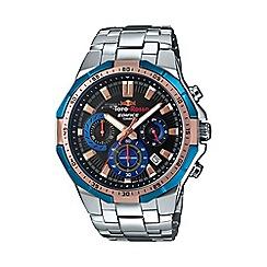 Casio - Men's Silver 'Edifice' ScuderiaTorro Rosso watch
