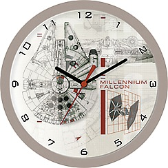 Star Wars - Children's Millennium Falcon Wall Clock star358