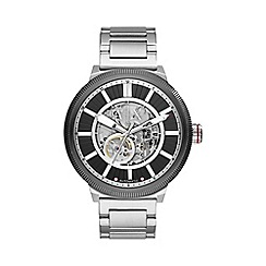 Armani Exchange - Transparent skeleton dial watch ax1415