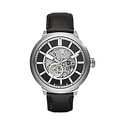 Armani Exchange - Transparent skeleton dial watch ax1418