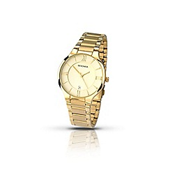 Sekonda - Men's gold plated stainless steel bracelet watch 1139.28