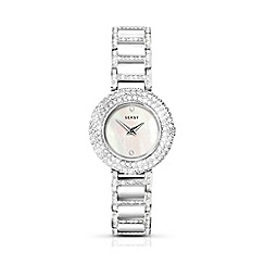 Sekonda - Ladies rhodium plated stone set fashion watch 2369.37