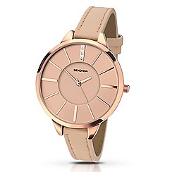 Sekonda - Ladies rose fashion strap watch 2316.28