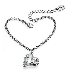 Fiorelli - Crystal Heart Bracelet