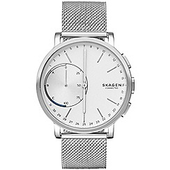 Skagen - Hagen Connected Steel-Mesh Hybrid Smartwatch skt1100