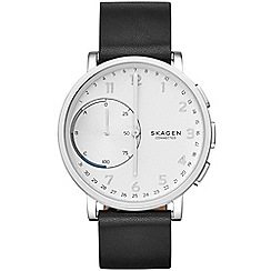 Skagen - Hagen Connected Leather Hybrid Smartwatch skt1101