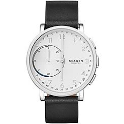 Skagen - Hagen Connected Leather Hybrid Smartwatch skt1101