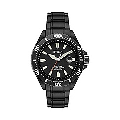 Citizen - Men's carbon plated titanium super tough bracelet watch bn0147-57e