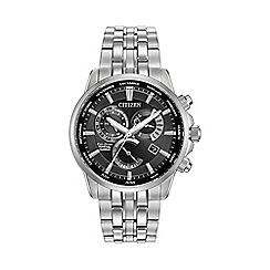 Citizen - Men's stainless steel perpetual calendar bracelet watch bl8140-55e
