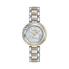 Citizen - Ladies two tone bracelet watch em0464-59d
