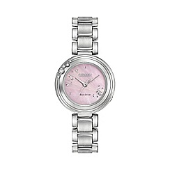 Citizen - Ladies silver bracelet watch em0460-50n