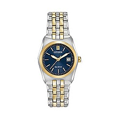 Citizen - Ladies two tone bracelet watch ew2294-53l