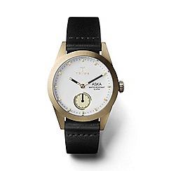 Triwa - Ladies ivory 3-hand watch with leather strap
